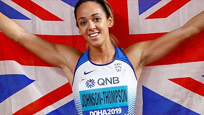 Heptathlete Johnson-Thompson captures Britain's second gold
