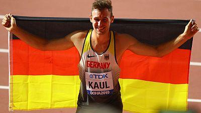 Athletics: Germany's Kaul wins thrilling decathlon battle
