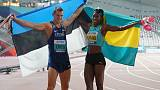 Athletics: Husband and wife Uibo and Miller-Uibo each win silver