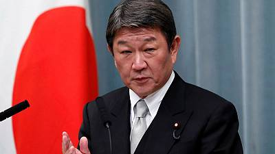 Japan's foreign minister says U.S. trade pact to start in January - Nikkei