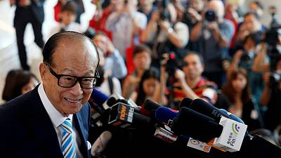 Hong Kong tycoon Li Ka-shing donates $128 million to support local business