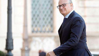 Italy economy minister says EIB should issue more bonds, ECB should buy them