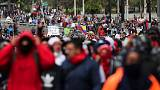 Ecuador arrests 370 people in two days of anti-austerity protests