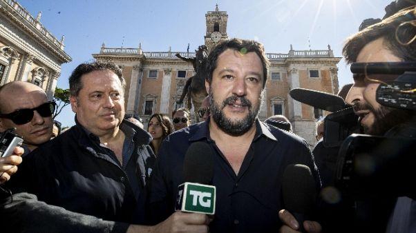 Salvini,Raggi peggior sindaco dopoguerra