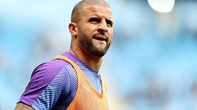 Walker an incredible player despite England snub - Guardiola