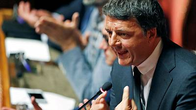 Former Italian PM Renzi to sue former Trump aide over smear claims
