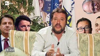 Salvini, Conte-Di Maio? Parole e sbarchi