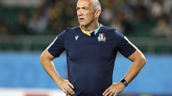 Rugby: O'Shea, onoriamo i Mondiali