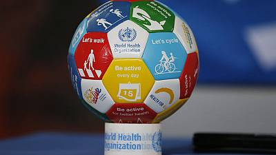 FIFA and WHO team up to promote healthy stadiums, fans