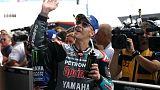 Marquez crashes again but makes Thailand front row behind Quartararo