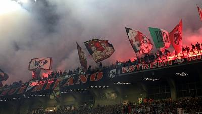 Petardi al derby , 9 ultras denunciati