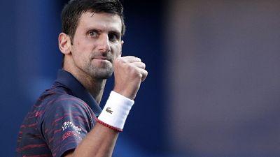 Tennis: Djokovic in finale a Tokyo