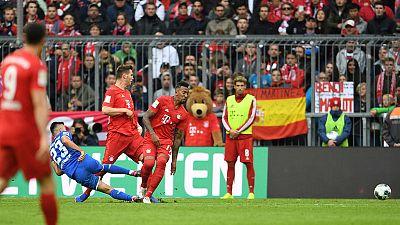 Hoffenheim shock Bayern 2-1 with Adamyan double