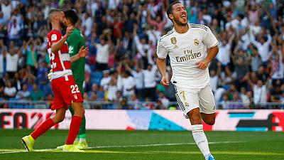 Hazard off the mark as Real increase lead at top