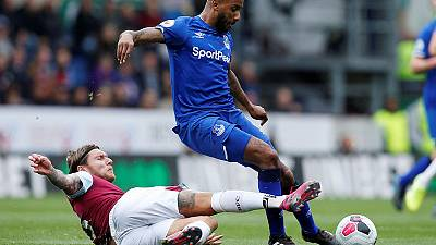 Everton slump again as Hendrick sends Burnley into fourth