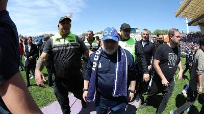 Prima vittoria per Gimnasia di Maradona