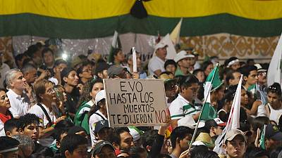 Hundreds of thousands voice outrage over Bolivian leader's response to forest fires