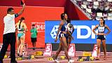 Olympic champion McNeal disqualified after false start in 100m hurdles