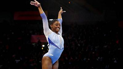 American Biles lands new skills at worlds