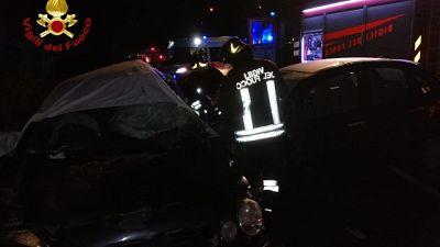 Schianto nel Cosentino, 4 giovani morti