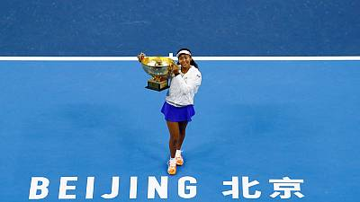 Osaka wins second Asian title with victory over Barty in Beijing