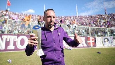 Ribery 'tifosi fenomenali,amo il calcio'