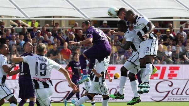Fiorentina-Udinese 1-0
