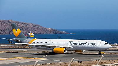 Final Thomas Cook holiday-makers to fly home to Britain