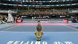 Comeback king Thiem rallies to subdue Tsitsipas in Beijing final