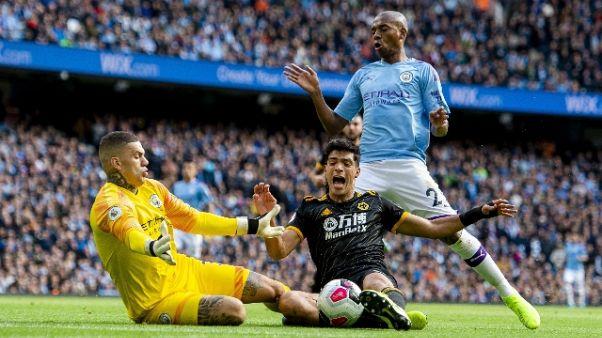 Sorpresa Wolves, battuto Manchester City