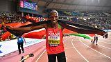 Kenyan Cheruiyot outclasses field to win 1,500 metres