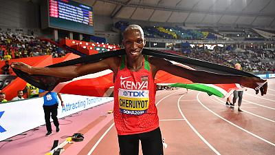Kenyan Cheruiyot outclasses field to win 1,500 metres