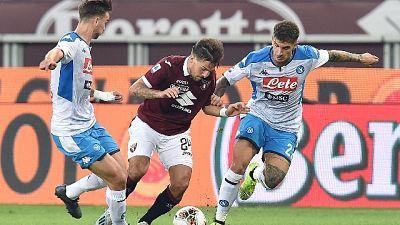 Serie A: Torino-Napoli 0-0