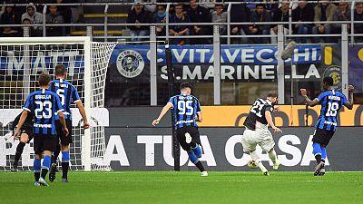 Juve go top as Higuain seals victory at Inter