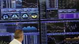 European shares extend losses on weak German data, trade anxiety