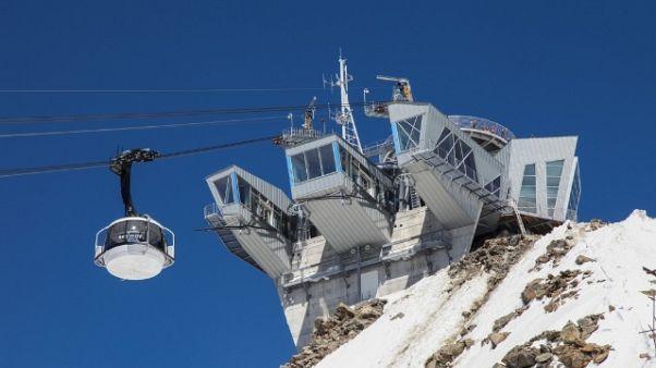 Skyway M.Bianco lancia Save the glacier