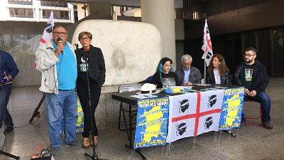40 movimenti a Capo Frasca,stop poligono