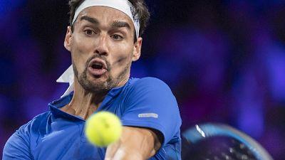 Tennis: Shanghai, Fognini batte Querrey