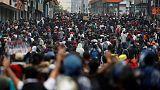 Indigenous protests convulse Ecuador as president decries 'coup attempt'