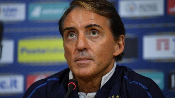 Mancini: In verde? Pereferisco l'azzurro