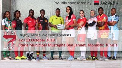 Les équipes les plus performantes se donnent rendez-vous en Tunisie pour l'Africa Women's Sevens