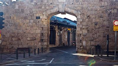 Portals to history and conflict - the gates of Jerusalem's Old City