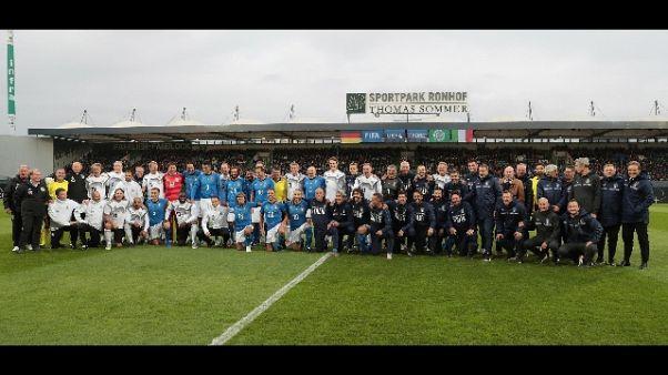 Sfida Azzurri Legends-Germania 3-3