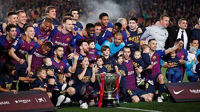 Barca players handed 92 million in bonuses last season