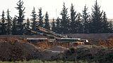 Ahead of offensive, Turkey says it strikes Syria-Iraq border