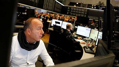 Positive German data, Airbus shares drive tentative gains in European stocks