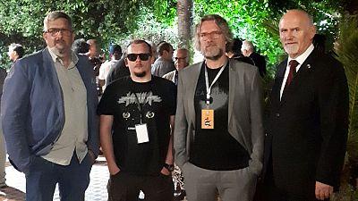 Artistes polonais au Festival international de la bande dessinée d'Alger (FIBDA)