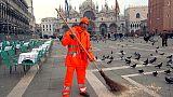 Concorso-record spazzini a Venezia