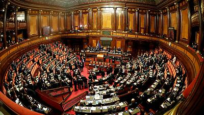 Italian parliament votes to scrap hundreds of seats at next election