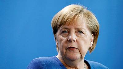 Brexit group apologises for casting Germany's Merkel as a 'kraut'
